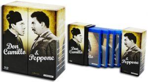 Lo splendido cofanetto della saga Don Camillo e Peppone uscito in Germania, con audio originale in italiano.