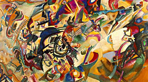 Kandiskij lo spirito e la musica nell 39 arte il quorum - Lo specchio nell arte ...