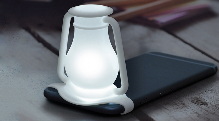 La lampada da viaggio che puoi usare sul tuo smartphone
